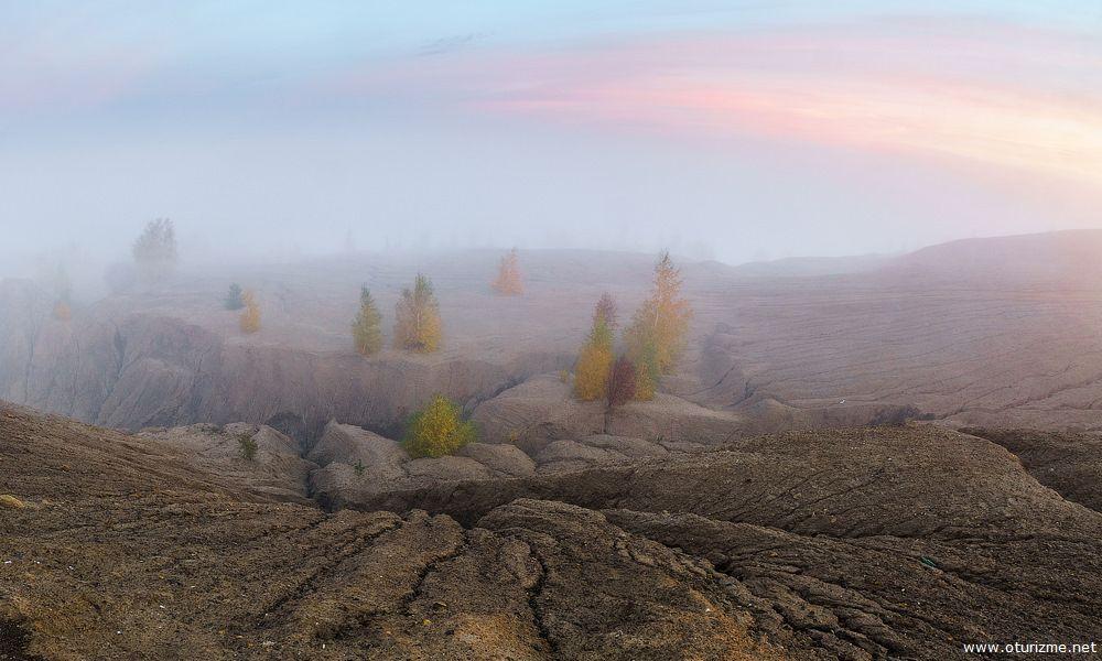 Утренний туман в Кондуках