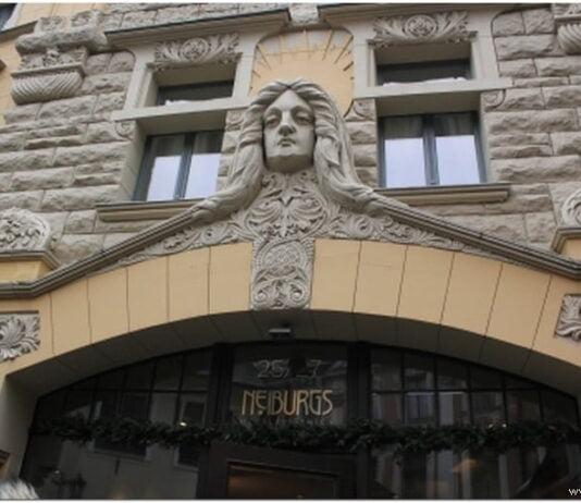 Ресторан Neiburgs в Риге