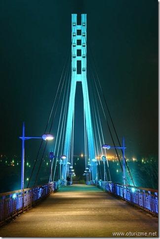 Мост влюблённых в Тюмени