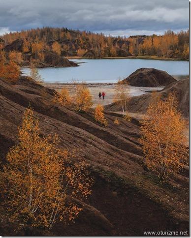 романцевские горы осенью